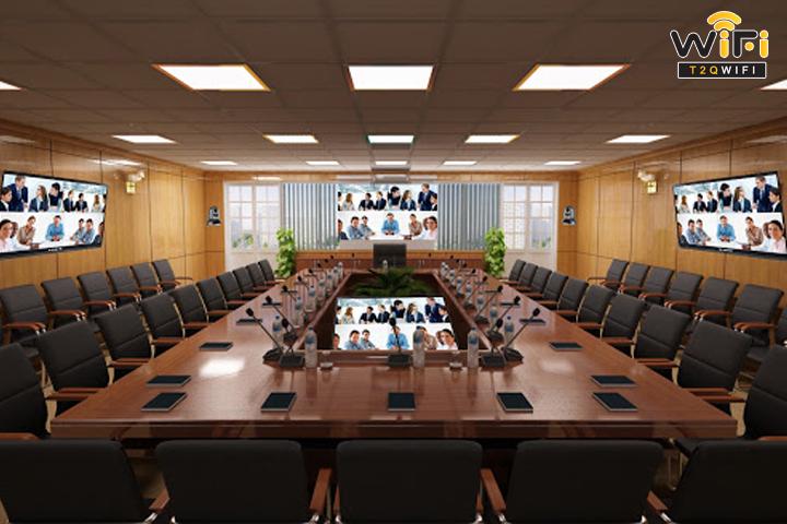 Lý do nên chọn thi công lắp đặt hệ thống hội nghị tại T2QWIFI