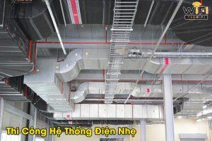Các hạng mục thi công hệ thống điện nhẹ