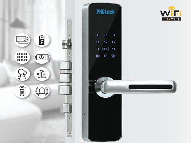 Điểm nổi bật của dòng khóa cửa điện tử PHGLock KR7153 thông minh