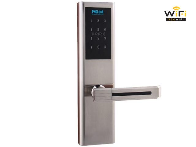 T2QWIFI chuyên cung cấp khóa cửa điện tử PHGLock KR8161 chính hãng, giá tốt