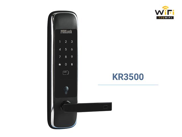 Khóa cửa điện tử PHGLock KR3500 với thiết kế sang trọng