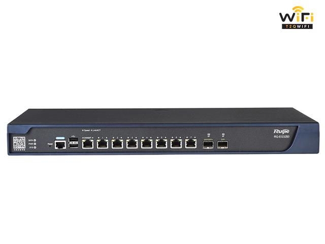Thiết bị RUIJIE RG-EG3250 hỗ trợ xây dựng hệ thống hạ tầng wifi