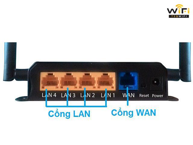 Vị trí giúp kết nối 2 modem wifi với nhau