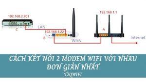 Cách Kết Nối 2 Modem Wifi Với Nhau Đơn Giản Nhất