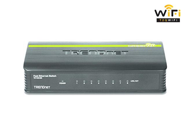 Thiết bị mạng 8 cổng Trendnet TE100S8 chất lượng với công năng ưu việt