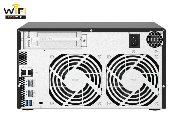 Cam kết khi chọn mua QNAP TS-832PX-4G tại T2QWIFI