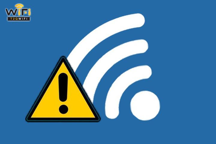 Chế độ dò tìm wifi bị vô hiệu hóa